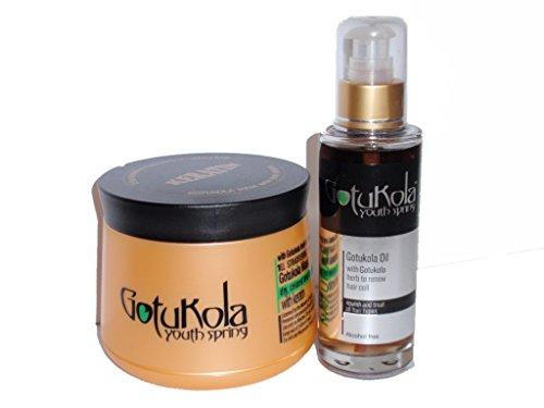 Masque capillaire réparateur à la kératine et huile capillaire naturelle (pour tous les types de cheveux)