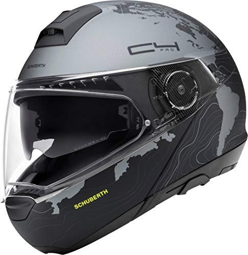 Schuberth 4017765131746 C4 Pro - Casco per Moto Unisex - Adulto, Nero (Magnitudo Black Mat), 59 (L), 1 Pezzo