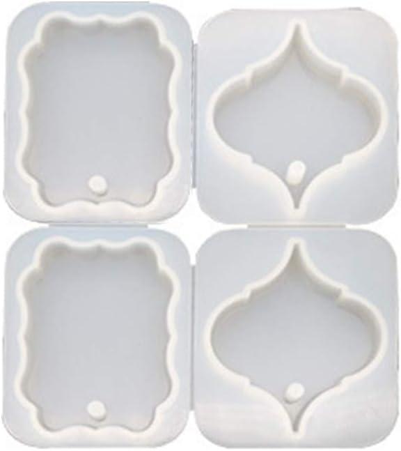 Year-end gift VERBENA LINN 4 Pcs set DIY 40% OFF Cheap Sale Crystal Jewelry Epoxy Making Hanging
