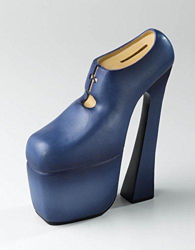 Enesco Spardose Damen Schuh blau Spardose