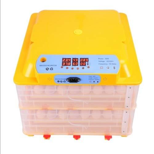 TM&W Mini Egg Incubator Fully Automatic with Egg Candler Mini Setter-Cum Hatcher (Capacity of Eggs- 112, Multicolour)