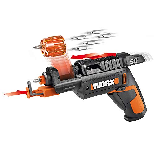 Our #7 Pick is the WORX Semi-Automatic Power Screw Driver with Screw Holder