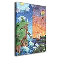 Skydoor J パネル ポスターフレーム 山 絵画 アート インテリア アートフレーム 額 モダン 壁掛けポスタ アート 壁アート 壁掛け絵画 装飾画 かべ飾り 50×40