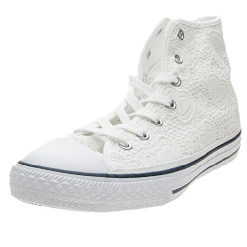 Converse Chuck Taylor Bambina 661036C White Sneaker Primavera/Estate 32