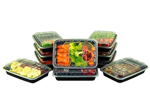Isolator Fitness Isobag - 350 ml Mahlzeiten Behälter - 10 Stück