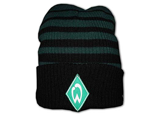 UMBRO Werder Two Colour Striped Beanie