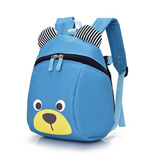 ASOSMOS Neue Mode Kinder Rucksack Anti-verlorene Tasche Cartoon Tier Bär Muster Kindergarten Kinder Baby Schultaschen