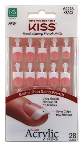 Kiss Acrylic French Alter Ego Nail Kit -- 2 per case.