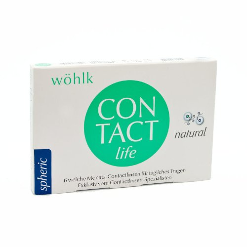 Wöhlk Kontaktlinsen Contact Life - 6er Box (-6 / 8,6)