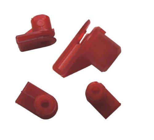 myshopx C74 Revêtement de Porte Clips de Fixation Pinces pare-chocs Clips de fixation Moulure pare-chocs Cylindre de course plastique rivets schlagniete Impression Rivet