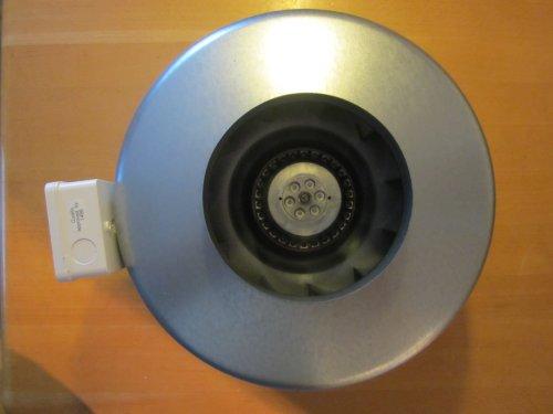 Helios RR 160 C ArtNr 5657 ventilator voor inbouw