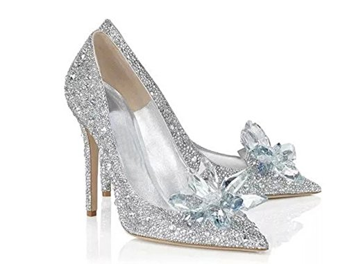 Cinderella Movie 2015 The Glass Slipper Princess Crystal...