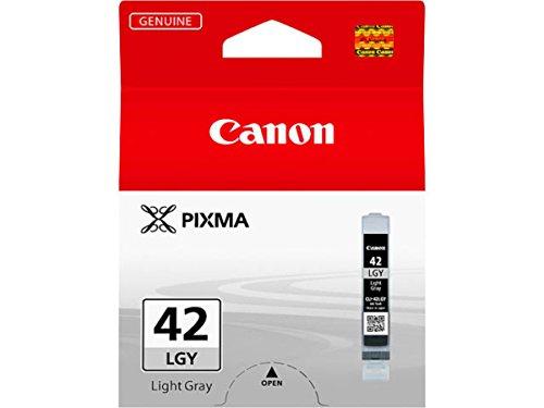 Canon originale – Canon Pixma Pro 100 S (CLI-42 LGY / 6391 B 001) – Cartuccia di inchiostro grigio – 835 pagine – 13 ml