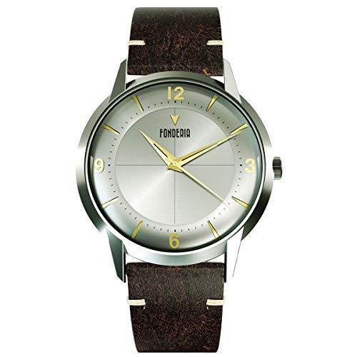 Fonderia The Professor II Classic P-6A015USG - Reloj para hombre, estilo vintage