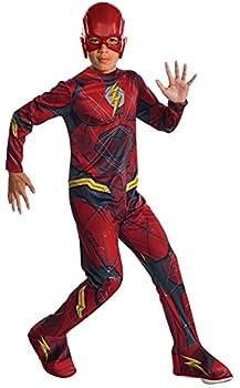 Rubie s Costume Boys Justice League The Flash Costume Medium Multicolor