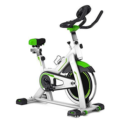 Indoor-Heimtrainer, Spin-Bike Studio-Fahrräder Heimtrainer Cardio-Workout Magnetisches Heimtrainer, Verstellbarer Lenker Sitzmerkmale Geschwindigkeit Zeit Abstand Kalorien Maximale Tragfähig