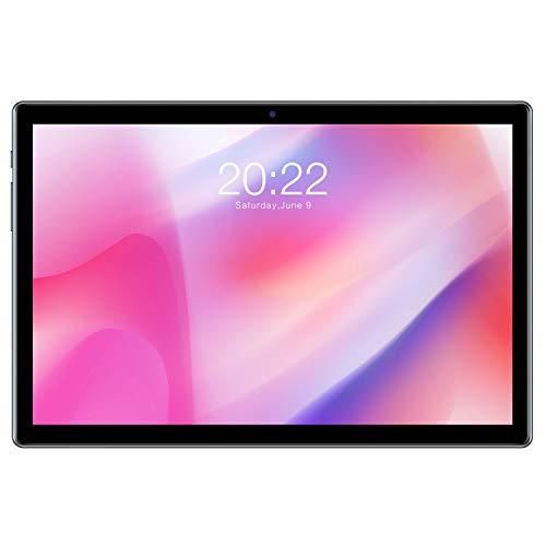 TECLAST Tablet 10.1 Pollici Android 10 P20HD FHD 1920x1200 4GB RAM + 64GB ROM, Bluetooth 5.0 Octa Core, 4G Doppia SIM/SD, Type-C, 5.0 + 2.0MP Cámara, WiFi+Cellulare+GPS, 6000mAh Batteria