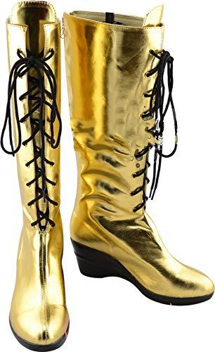 GSFDHDJS Cosplay Stiefel Schuhe for Vocaloid 2 CV3 Megurine Luka