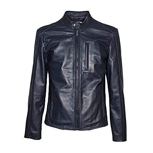 Trussardi Jeans 52S00590-2P000079 U290 Navy Blue - Chaqueta para hombre, turquesa, 58