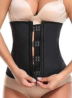Women's Hot Sweat Neoprene Workout Top Shirt Waist Trainer Cincher Corset Trimmer Belt Body Shaper for Weight Loss