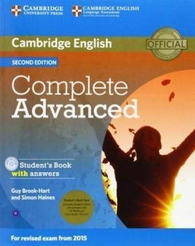 Complete Advanced Student's Book Pack (Student's Book with Answers with CD-ROM and Class Audio CDs (2)) [Lingua inglese]