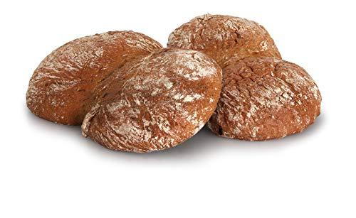 4 Packungen Vinschger'l von Gustos, jeweils 300 Gr. Originales Roggenbrot aus dem Vinschgau, das leckere Brot des Bauerntoasts