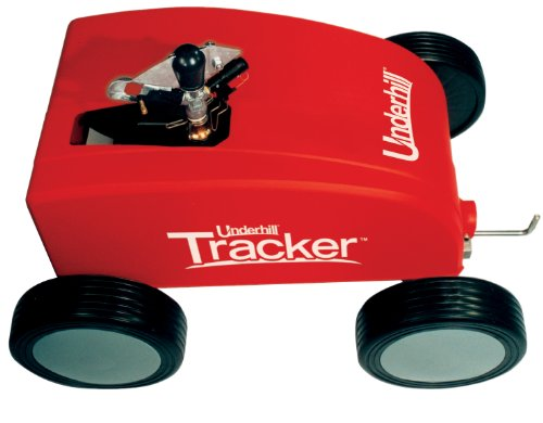 Underhill T-400 Tracker Traveling Adjustable Speed Control Irrigation Machine, 1-Inch Female Hose Connection Anchor Stake, and Auto Shut-off
