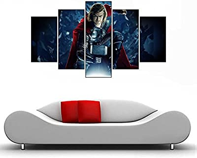 Impression Wall Decor Thor Avengers Sticker (51 x 91 cms)