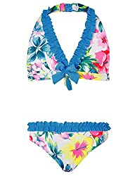 Girl Bikinis Girl Outer: Outer. 85% Recycled Polyester, 15% Elastane Lining: Lining. 93% Recycled Polyester, 7% Elastane machine wash