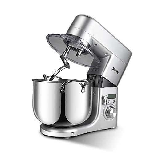 Máquina De Cocina para Chef, Batidora De Masa Multifunción De Acero Inoxidable para El Hogar, Batidora De Crema Pequeña para Amasar