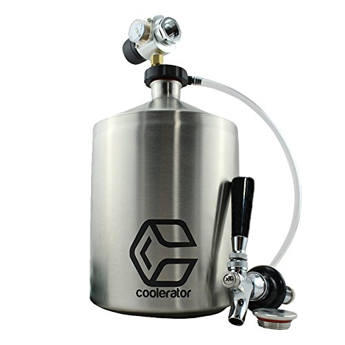Coolerator Build Your Own Kit All-in-One Pressurized Mixed Drink and Beer Dispenser