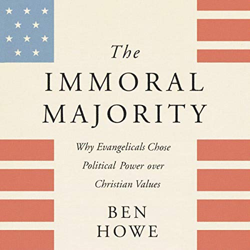 The Immoral Majority audiobook cover art