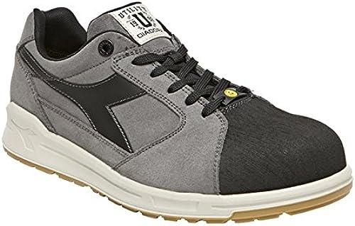 Diadora D-JUMP Faible PRO S3 SRC ESD Chaussures de sécurité gris noir Taille 35-48, 9685464031