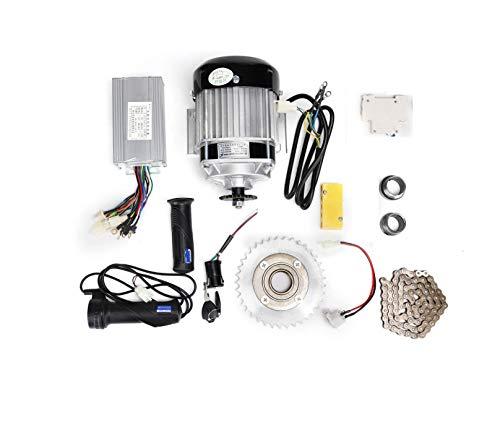 DC 48V 350Watt BLDC DIY Electric Rickshaw Motor Kit | Electric Bike Motorcycle Kit | E-Bike Motor | E-Bike Conversion Motor Kit | Electric Motor Bike Kit