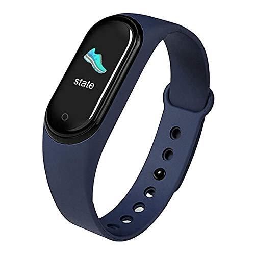 Pulsera inteligente impermeable IP67, monitor de ritmo cardíaco, rastreador de fitness, detección de sueño, pulsera inteligente delgada para hombres y mujeres