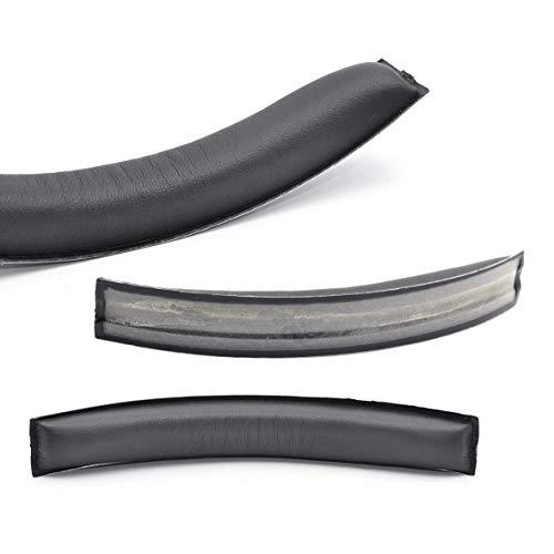Defean Replacement HD700Ear Pads Earpad Earmuff Cup Foam Cushion Headband Hoops for Sennheiser HD700 HD 700 Headphones (Black Protein Headband)