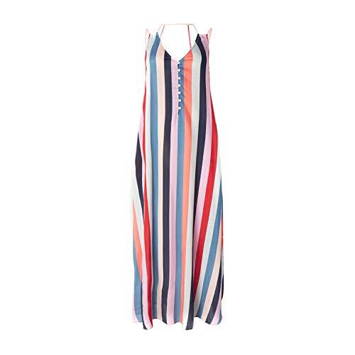 O'NEILL LW Belinda AOP Robe Longue pour Femme Multicolore L