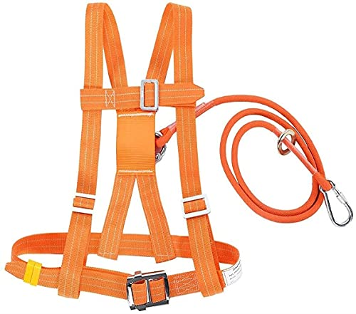 VTAMIN Cómoda protección contra caídas, medio cuerpo de arresto de caída de caída cordón tubular en techador de espalda, construcción, andamios, equipo de caída completo de la caída Equipo personal 1.