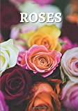 Roses: A Pink Floral decorative book for coffee tables, living room, bookshelves and interior design styling, Stack decor books together to create a ... design savvy people. (Floral Decor Books)
