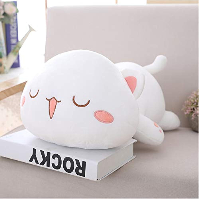 precios mas baratos Ycmjh Kawaii Cat Plush Juguete Emoji Pillow Animal Animal Animal Animal Almohada Regalo 60cm  en linea