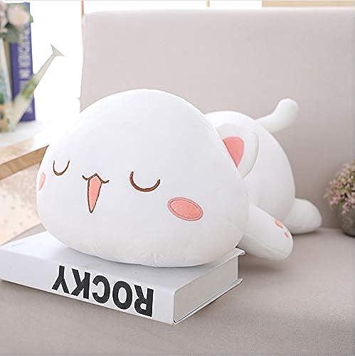 venta al por mayor barato Ycmjh Kawaii Cat Plush Toy Emoji Pillow Animal Animal Animal Animal Almohada Regalo 60cm  comprar marca
