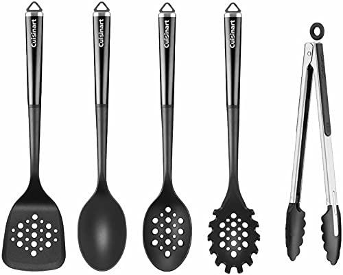 Cuisinart CTG-00-5FPO Stainless Steel FusionPro Kitchen Utensils Tool Set- 5 Piece