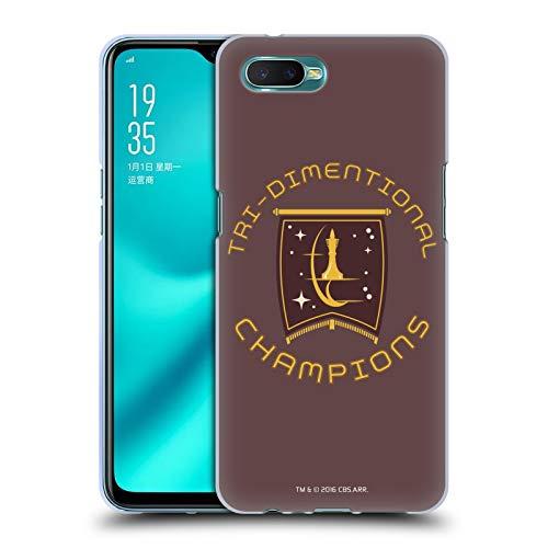 Head Case Designs Licenciado Oficialmente Star Trek Champion Logos de la Flota Estelar Carcasa de Gel de Silicona Compatible con OPPO R15x