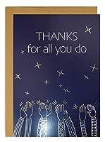 素晴らしい紙。 All You Do Encouragment グリーティングカード 6.75インチ x 4.75インチ 3枚 (2020012)