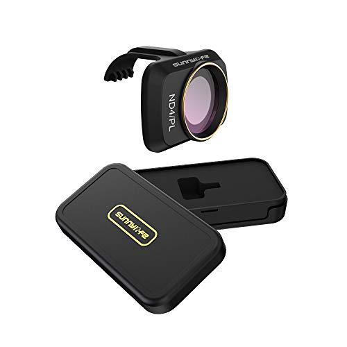 CUEYU Objektivfilter Kompatibel Mit DJI Mavic Mini Drone,Professionelle MCUV CPLMCUV CPL ND/PL 4/8/16/32 Filter Kamera Objektive für DJI Mavic Mini Drone (ND4/PL)