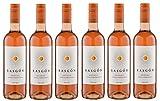 6x 0,75l - 2019er - Rasgón - Tempranillo Rosado - Vino de la Tierra de Castilla - Spanien - Rosé-Wein halbtrocken
