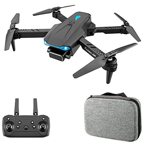 Flytise S89 RC Drone per principianti RC Aircraft Mini pieghevole Altitude Hold Quadcopter RC Toy Drone per bambini con modalità senza testa