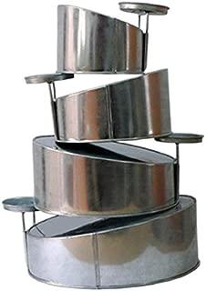 Mini Topsy Turvy 4 Tier Cake Pans Tins by EuroTins 5