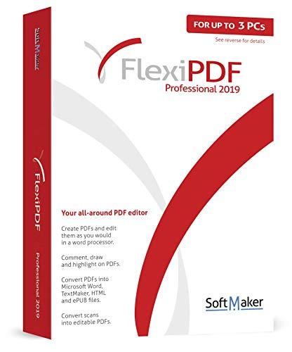 FlexiPDF Professional - OCR PDF Editing Software - 3 USER for your Windows...