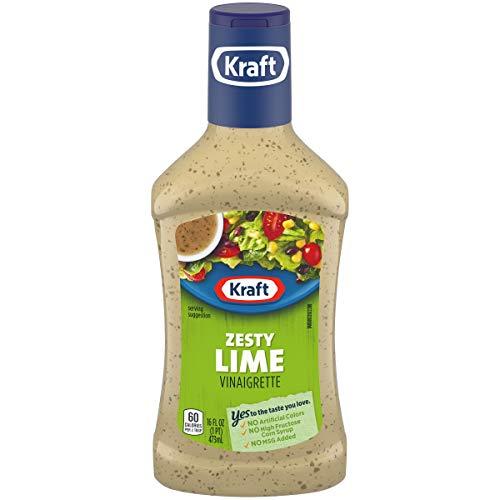 Kraft Zesty Lime Vinaigrette Dressing, 16 fl oz Bottle
